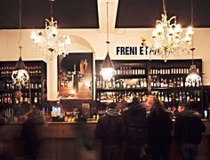 Try out some of the authentic, local bars when you travel to #Italy.