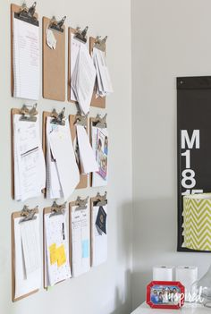 Home Organization Tips ... or How I Pretend to be Organized #10minutedecorating