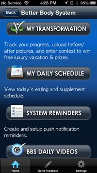 BBS App - Taking the Better Body System to the next level! Love the app? Get the entire Better Body System at www.YourBetterBodyProducts.com/bbsapp