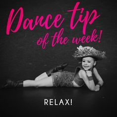 Your audience can tell when you're stressed. Relax and have FUN on stage! Dance Tips, Performing Arts, Have Fun, Stage, Relax, Instagram, Keep Calm, Gcse Art