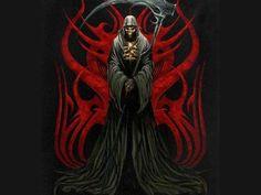 Grim Reaper with Roses wallpaper | ... Grim Reaper, Reaper, Grim, Skull, Skeleton, Death, Dark, Death Reaper