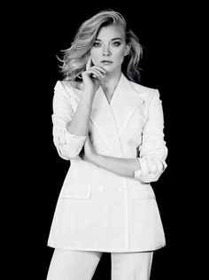 Natalie Dormer, photographed by Nick Kelly for The Rake Magazine, Dec Natalie Dormer, Nick Kelly, Kelly Fashion, White Suits, English Actresses, Female Actresses, Celebs, Celebrities, Beauty Queens