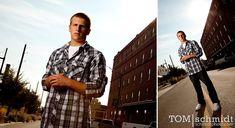 Male Senior Portraits - Outdoor Photo Shoot