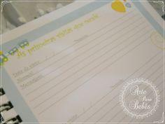 Página interna do livro do bebê para registrar as suas primeiras visitas!💙👶💙      Link direto do produto:  👉👉http://bit.ly/livrobb    #gravida #gravidas #gravidalinda #marqueumagravida #gravidafashion #gravidabf2016 #dicadegravida #gravidinha #gravidafeliz #nadoceespera #maedemenina #maedemenino #gestação      🌷🌷http://www.arteparabebes.com.br🌷🌷    🎁Aproveite o cupom PRIMEIRACOMPRA e ganhe R$10.00 de desconto!!😍    🎈5% de desconto para pagamento por DEPÓSITO    🚛Faça o…