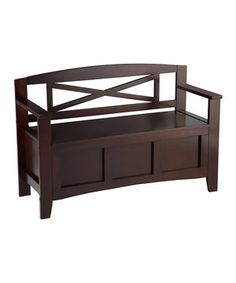 Amazing This Crosby Bench By Linon Home Is Perfect! #zulilyfinds