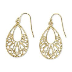 Attention Women's Goldtone Dangle Earrings