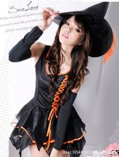 ensen classic sexy witch costume black demon queen cosplay play plus size halloween costume stage performance