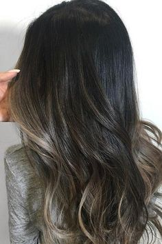 Hair Color Ideas For Brunettes Babylights Balayage Super Ideas Balayage Brunette, Brunette Hair, Balayage Hair, Asian Balayage, Blonde Hair, Brown Balayage, Bayalage, Asian Ombre, Ashy Hair