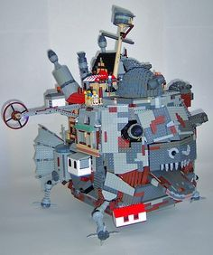 howls moving castle in brick stitch | 1000+ images about Studio Ghibli on Pinterest | Totoro, Studio ghibli ...