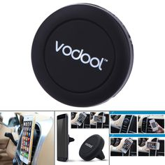Mini Phone Holder Air Vent Mount Magnet Magnetic Cell Phone Mobile Holder Universal For iPhone 6 6s 7 GPS Bracket Stand Support