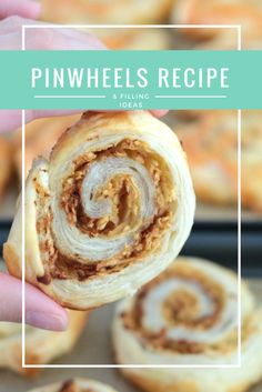Easy pinwheels recipe for baby led weaning. It also includes lots of filling ideas both savoury and sweet. These are really quick and simple to make and taste delicious. My favourite at the moment is definitely the apple and cinnamon pinwheels.