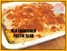 Old Fashioned Pastie Slab | Stay at Home Mum