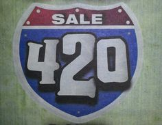 Interstate 420 or the freeway sign going through your city is an idea for a tattoo