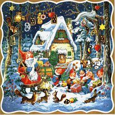 Adventskalender-Wunschzettel-des-Weihnachtsmanns-Kurt-Brandes-Reprint-Nr-11710