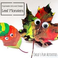Fall Crafts For Toddlers, Halloween Crafts For Kids, Toddler Crafts, Kids Crafts, Toddler Learning Activities, Activities For One Year Olds, Expressive Art, True Colors, Colours