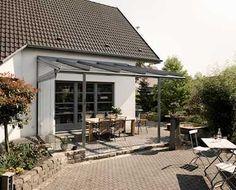 Terrassenüberdachungen - Terrassendach Glas - SDL Atrium plus - Bilder,Ideen,Pläne - Hersteller www.solarlux.de