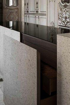 Minotti Cucine, Pietra by Claudio Silvestrin | Interior - Kitchens ...