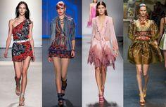 Vestidos Verão 2014 - Confira as tendências e apostas para a estação