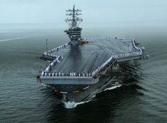 "USS Dwight D. Eisenhower CVN-69 Norfolk, VA July 3, 2013 - 5"" x 7"" Photograph"