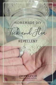 DIY Flea And Tick Repellent: A Powder Recipe For Dogs (Organic, Natural, Non-Toxic, Effective) Flea Powder For Dogs, Flea Spray For Dogs, Flea Shampoo For Dogs, Flea And Tick Spray, Natural Flea Remedies, Dog Flea Remedies, Ticks Remedies, Flea Remedy For Dogs, Tick Repellent For Dogs