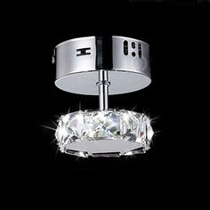 24.15$  Watch now - http://aliwlk.shopchina.info/go.php?t=32779078305 - Round K9 Clear Crystal Pendant Lights Aisle Hallway LED Ceiling lamps  Fixture luster Aisle balcony lamp 85V-260V  24.15$ #magazineonline