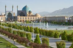 Change is afoot in Iran, with the country currently preparing for a 'tsunami' of foreign tourists, who will no doubt be drawn to sights such as Shah Mosque