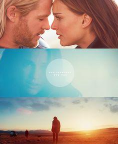 Thor and Jane. I like Jane.She's BACK in Thor 2