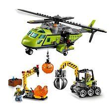 """LEGO City - Helicóptero de Abastecimento do Vulcão - 60123 - LEGO - Toys""""R""""Us"""