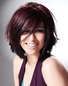 Bob hair cut. I love her cut and color!