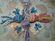 gebreid en gehaakte inktvisjes, we hebben destijds er heel wat gemaakt bij Bloemendalwol voor de couveusekindjes