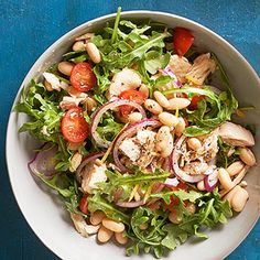 Tuscan Tuna Salad From Better Homes and Gardens, ideas and improvement projects for your home and garden plus recipes and entertaining ideas.
