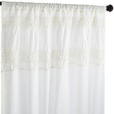 Savannah Curtain - Ivory