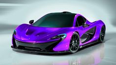Gorgeous Purple McLaren P1  www.motorhappy.co.uk
