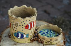 Clay Pinch Pots, Clay Mugs, Air Dry Clay, Clay Creations, All Art, Find Art, Terracotta, Baby Shoes, Weaving