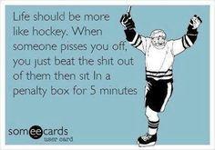 Life should be more like #hockey #eards #ecard #funny