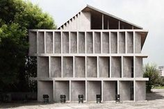 Le Corbusier, Tower of Shadows, Chandigarh