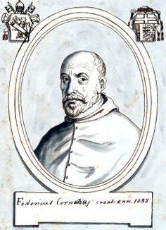 Conti di Panico: En 1575 Federico Cornaro fue Nuncio en España.