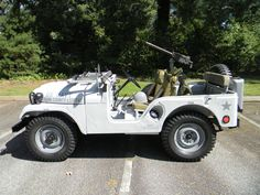 1953 Willys M38A1 Shore Patrol Jeep - Photo submitted by Peter Butchart.