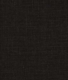 Robert Allen Kilrush Jet Fabric - $29.75 | onlinefabricstore.net