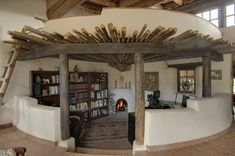20 Stunning Cob House Interior Design Ideas 2019 The post 20 Stunning Cob House Interior Design Ideas 2019 appeared first on House ideas. Cob House Interior, Home Interior Design, Interior Architecture, Interior Livingroom, Kitchen Interior, Cob Building, Building A House, Building Ideas, Earth Bag Homes