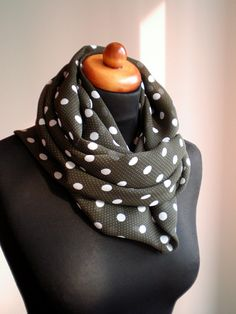 dot the polka- scarf, wrap,shawl and stole all in one $16.99 (etsy)