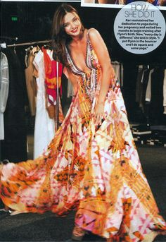 Camilla Franks maxi - in various colours. As seen on Miranda Kerr