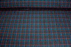 Košilovina káro  š.140 ,cena za 10cm