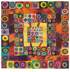 Free quilt patterns. Love this Eric Carle looking one