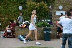 Maria Sharapova at Wimbledon. Florian Eisele/AELTC Wimbledon, Wimbledon Awaits