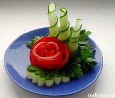 ▲Красивая подача овощных нарезок▲ / Простые рецепты