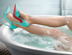 Curves and waves in the Christian Louboutin Spring/Summer 2015 Collection