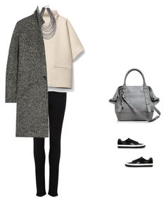 """""""Untitled #1679"""" by yuenchewwan ❤ liked on Polyvore featuring Paige Denim, Mackage, Erica Lyons and Isabel Marant"""