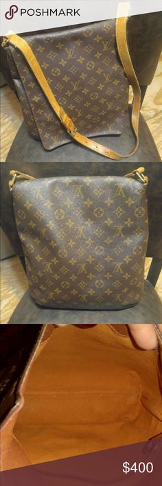 Louis Vuitton Monogram Musette Salsa Crossbody Bag Loved this bag when I wanted to take a bag but needed my hands free! Just ready for something new!  The strap looks like it will come off soon but can easily take it to any cobbler to have it fixed. Louis Vuitton Bags Crossbody Bags