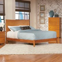 Cheap Atlantic Furniture Miami Modern Platform Bed with Open Footrail in Caramel Latte – Queen Solid Wood Platform Bed, Full Platform Bed, Modern Platform Bed, Queen Platform Bed, Platform Beds, Platform Bedroom, Murphy Bed Ikea, Murphy Bed Plans, Atlantic Furniture